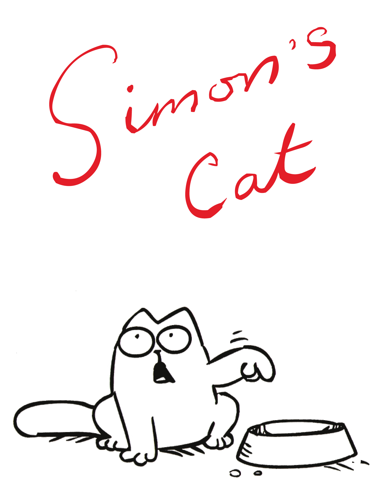 Research Of Lineart Simons Cat